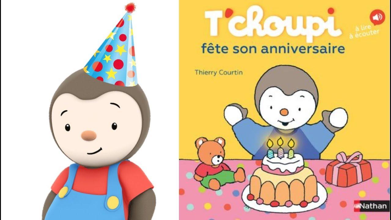T'Choupi Fête Son Anniversaire ⭐️ Histoire Pour Enfants à T'Choupi ? L'?Cole