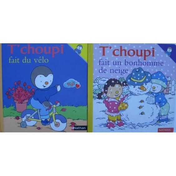 Tchoupi - Livre - Histoires à Tchoupi Velo
