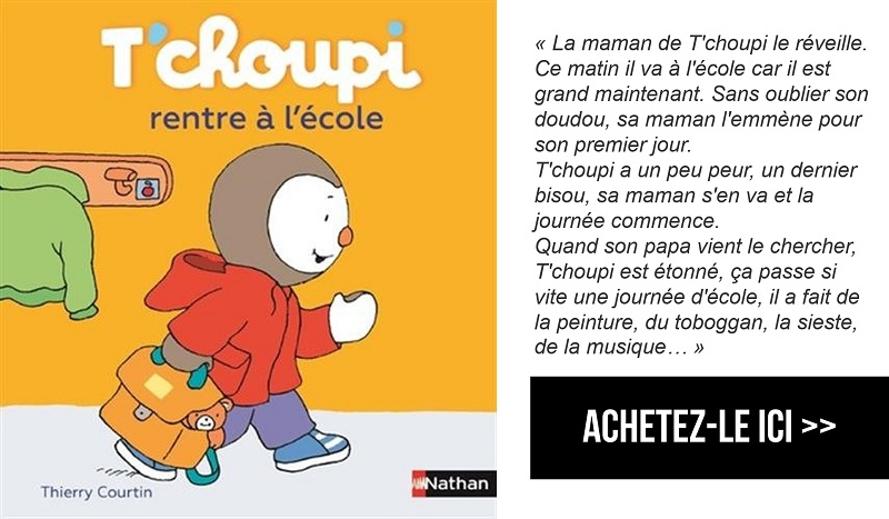 T'Choupi Rentre À L'École - Rentrée En Maternelle pour T'Choupi ? L'?Cole