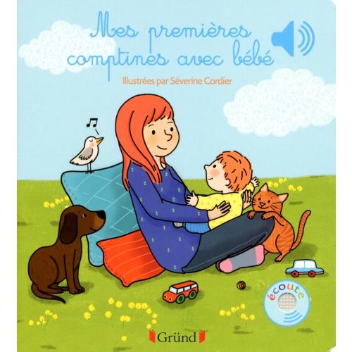Télécharger Mes Premières Comptines Avec Bébé - Séverine destiné Comptine Pour Bebe Gratuit