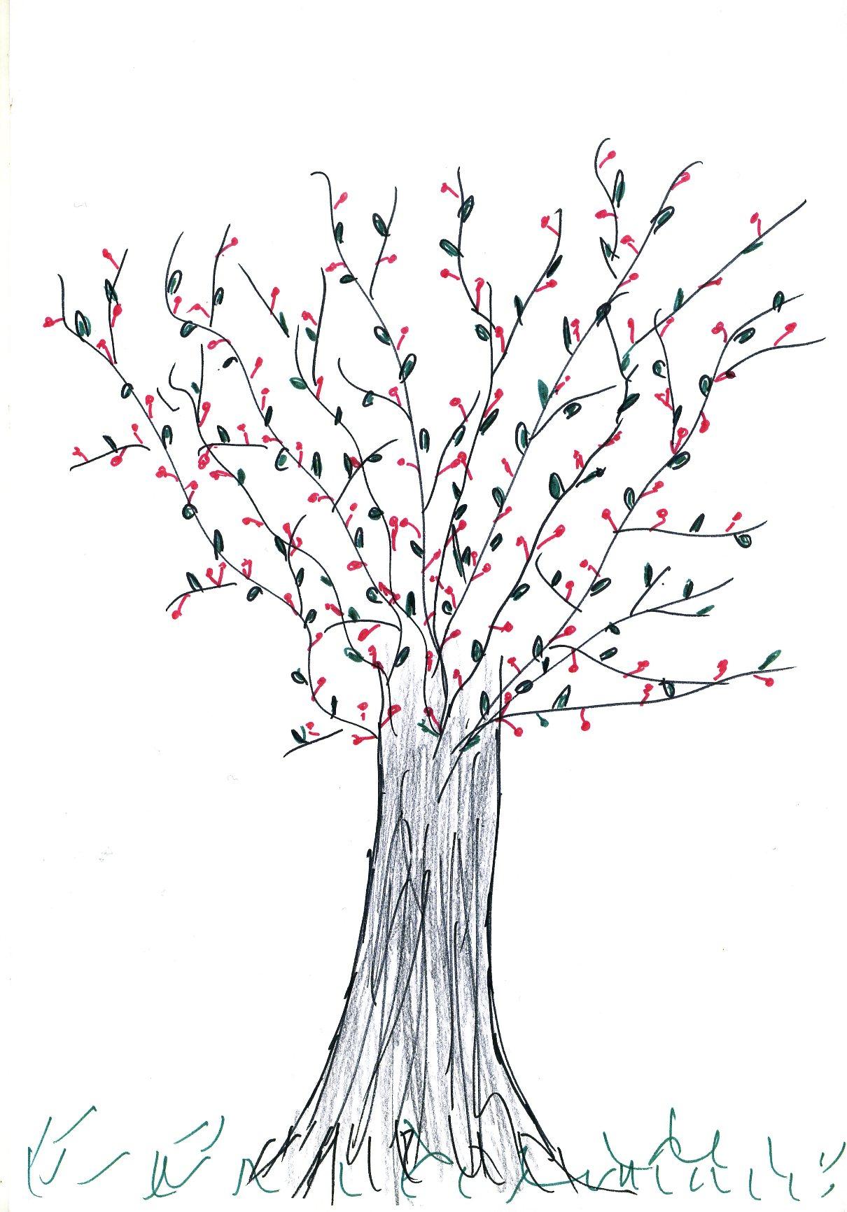 Test Du Dessin D'arbre | Autour De La Graphologie Et Du Dessin intérieur Dessin D Arbre En Hiver