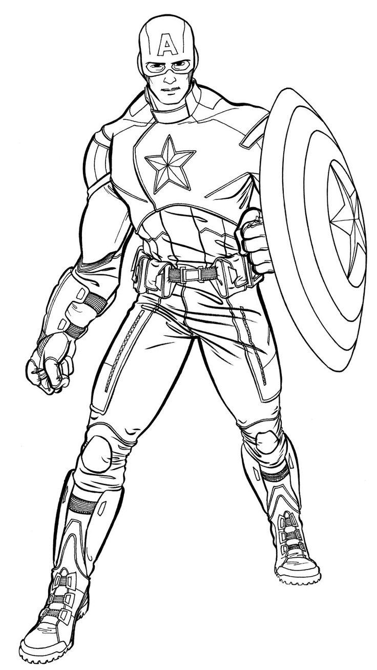 The 146 Best Superhero Coloring Pages Images On Pinterest intérieur Coloriage Super Hero