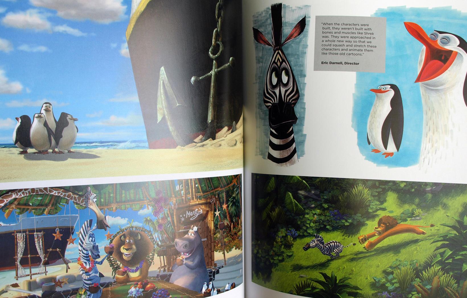 | The-Art-Of-Dreamworks-Animation-Madagascar encequiconcerne Dreamworks Madagascar Movie