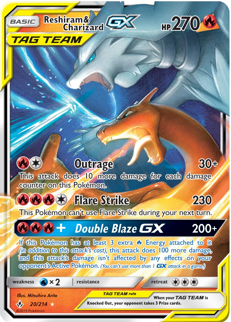The Best Cards To Pull From The Pokémon Unbroken Bonds Tcg serapportantà Dessin Pokemon Reshiram