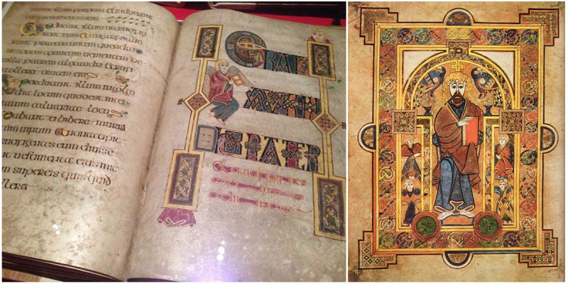The Book Of Kells Is The Finest Masterpiece In Ireland à Script In The Book Of Kells Book