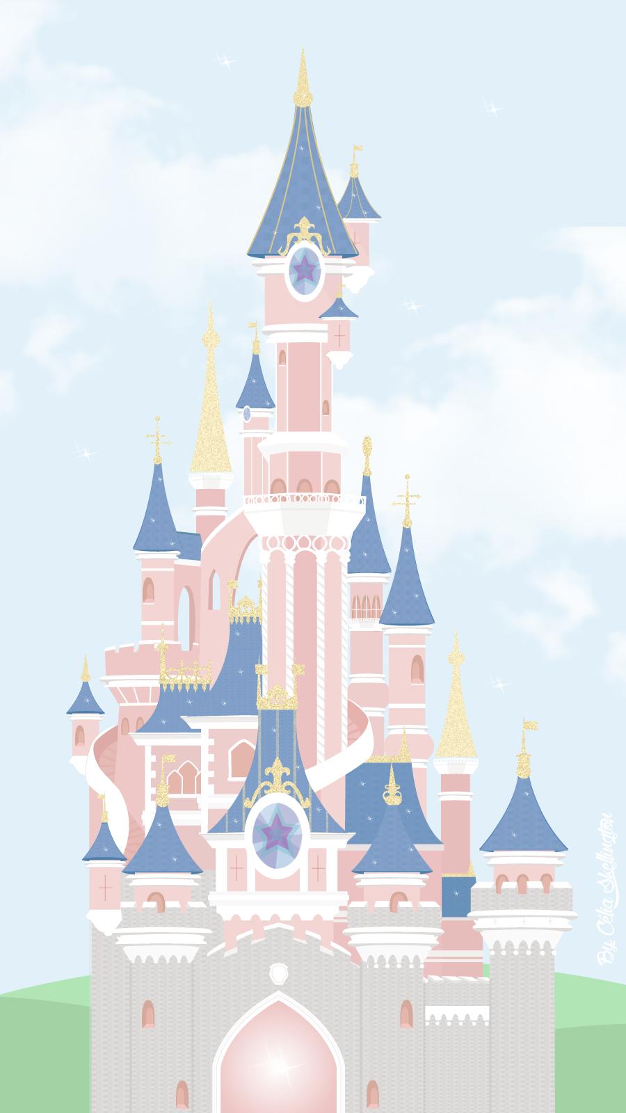 The Happiest Place On Earth | Célia Skellington | Le Blog tout Dessin Chateau Disney