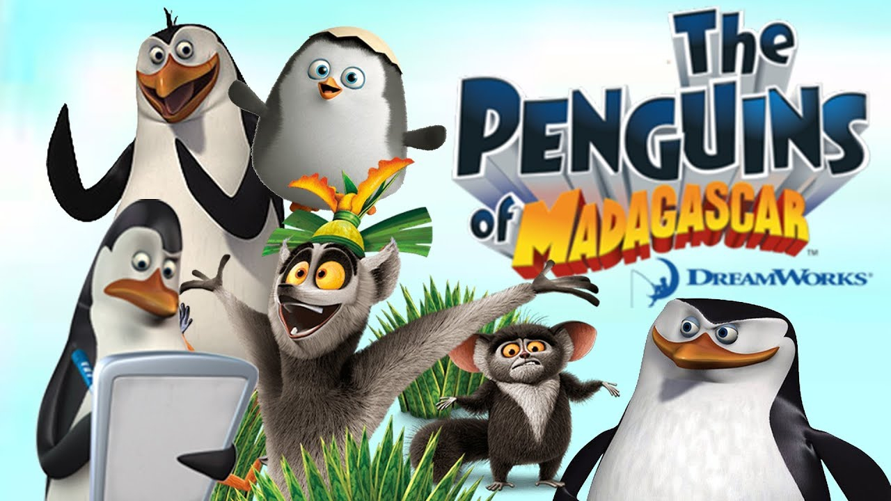 The Penguins Of Madagascar Full Movie Game English serapportantà Dreamworks Madagascar Movie