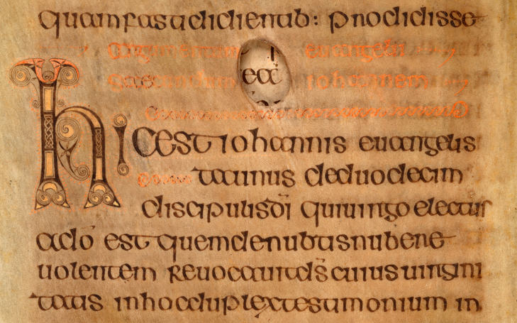 The Script In The Book Of Kells - The Book Of Kells (With serapportantà Script In The Book Of Kells Book