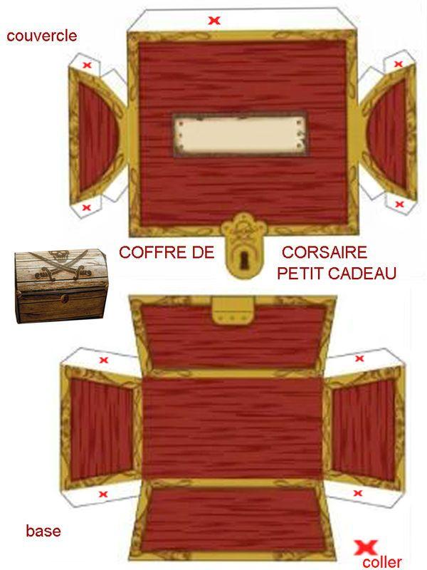 Theme | Anniversaire Thème Pirate, Carte Au Trésor Et intérieur Dessin Coffre Pirate