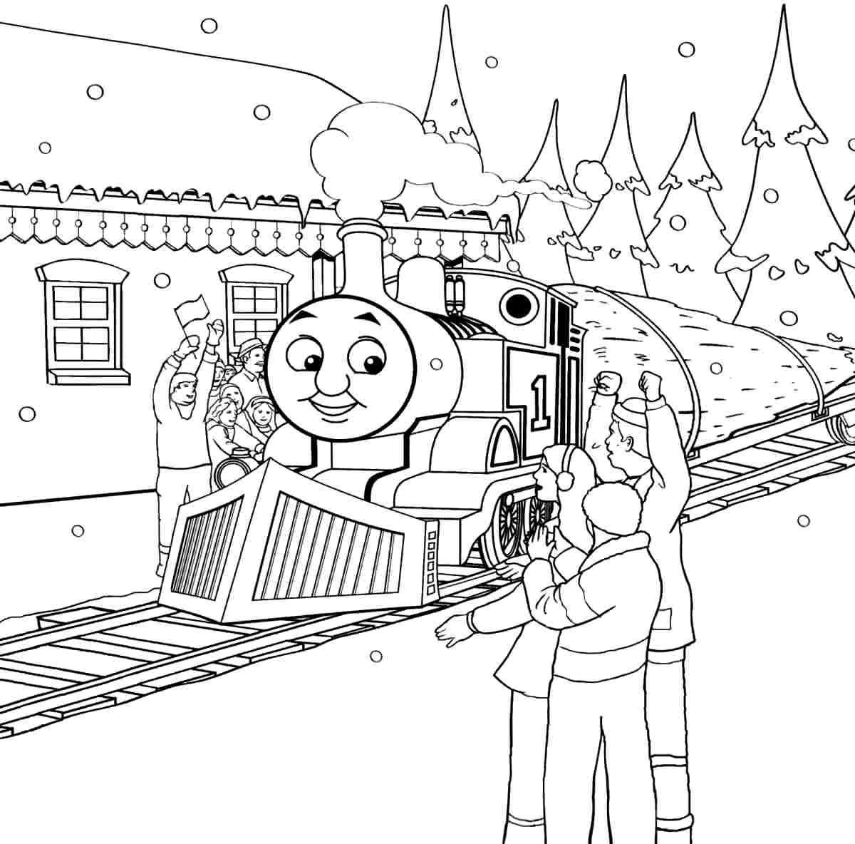 Thomas Thomas The Tank Colouring Pages (Page 3 intérieur Dessin Animé Train Thomas