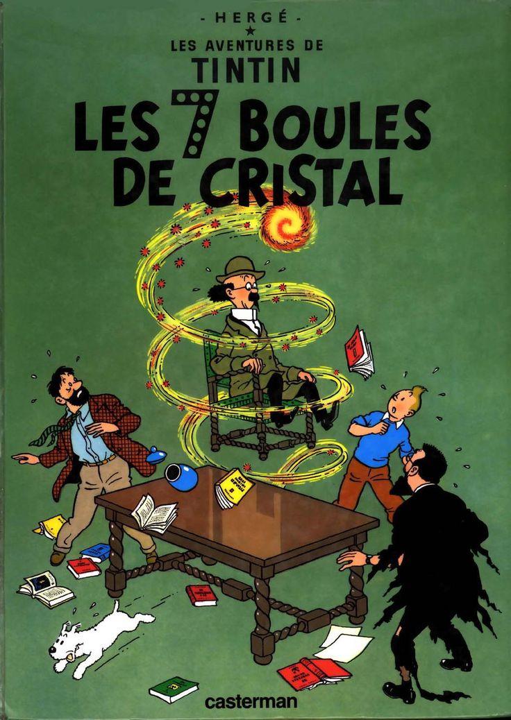 Tintin - 13 - Les 7 Boules De Cristal   Tintin, Boule De concernant Issuu - Boule