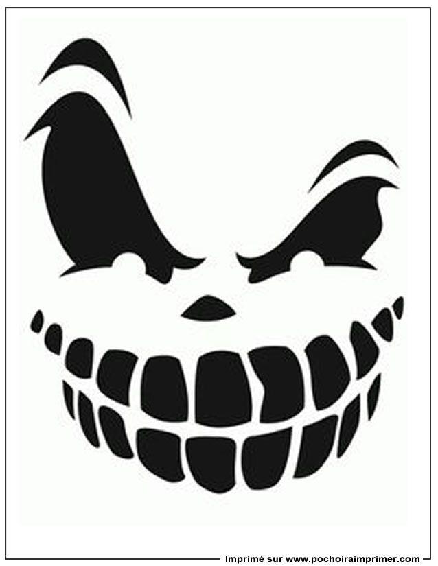 {Title} (Avec Images) | Pochoirs Halloween, Citrouille serapportantà Modele Dessin Halloween