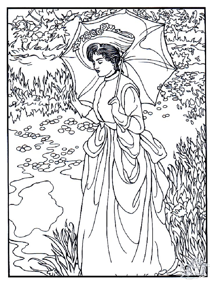 To Print This Free Coloring Page «Coloring-Adult-Manet», Click On The Printer Icon At The Right concernant Coloriage Adult