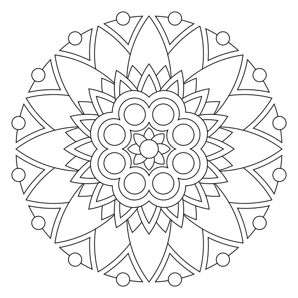 Tons Of Printable Mandala Designs Free For Download. Print encequiconcerne 100 Greatest Mandala Coloring Book: