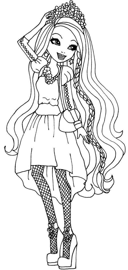 Top 10 Ever After High Coloring Pages | Coloring Pages For serapportantà Coloriage Eva Queen A Imprimer
