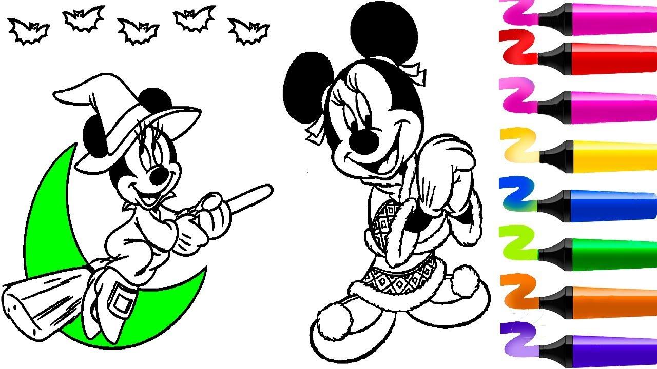 Top 5 Coloriage Mickey Mouse!Compilation Coloriage Mickey serapportantà Dessin Fée Facile