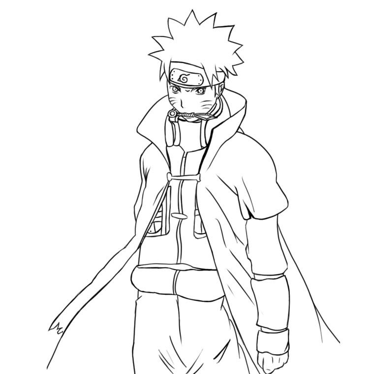 Top Du Meilleur: Coloriages Naruto Gratuits A Imprimer concernant Naruto Coloriage