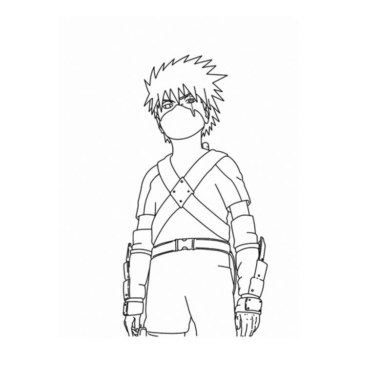 Top Du Meilleur: Coloriages Naruto Gratuits A Imprimer destiné Naruto Shipuden Coloriage