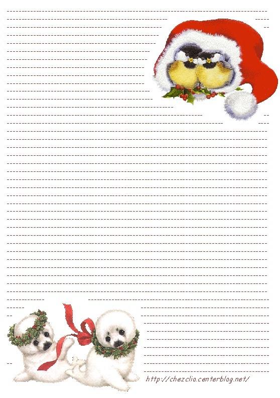 Top Du Meilleur: Papier A Lettre Pour Le Pere Noel pour Papier À Lettre Pere Noel