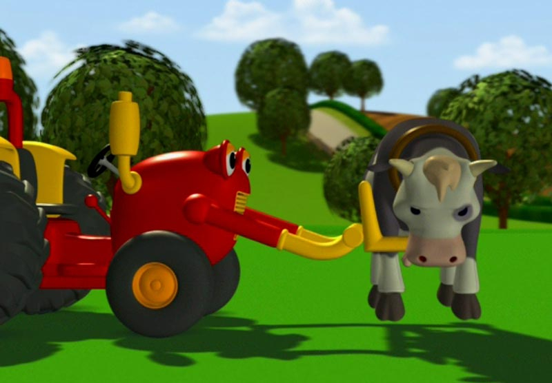 Top-Parents.fr : Tracteur Tom | Actualité | Actualité pour Dessin Tracteur Tom