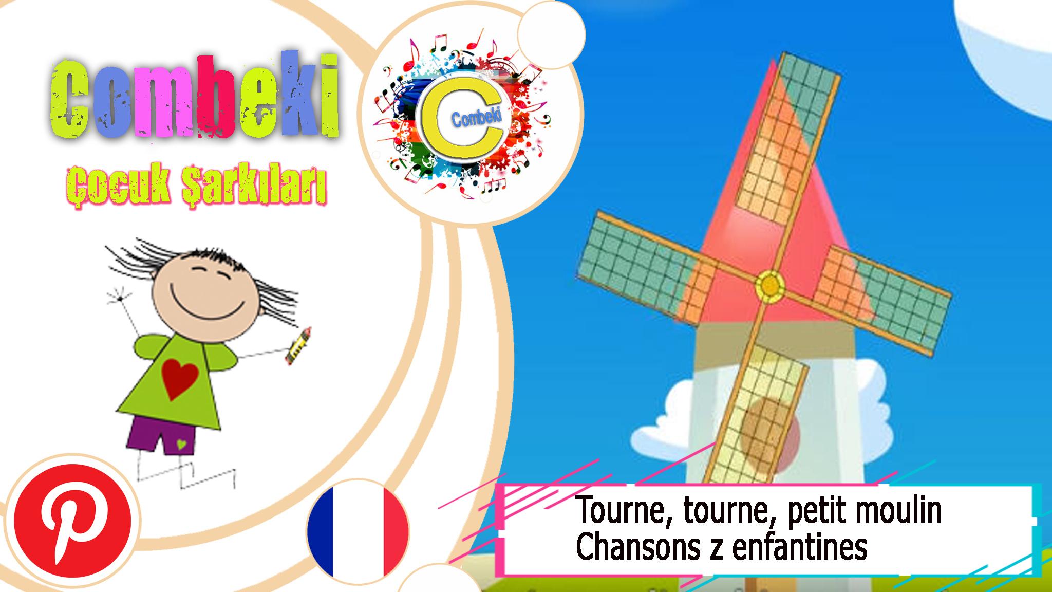 Tourne, Tourne, Petit Moulin - Chansons Enfantines pour Tourne Tourne Petit Moulin
