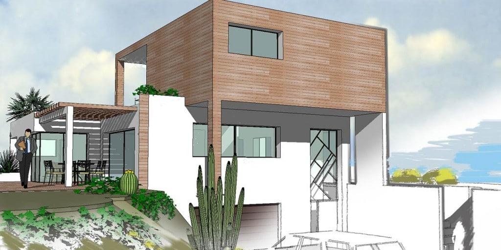 Tout Savoir Sur Le Plan D'Une Maison Moderne - Moderne House avec Dessin De Maison Moderne