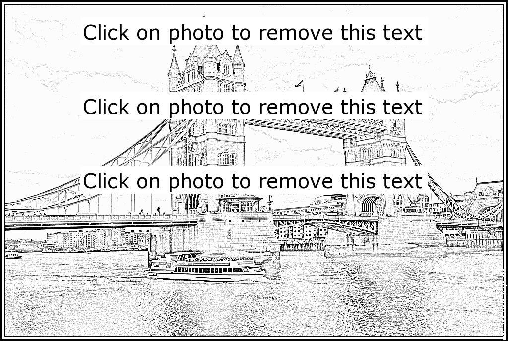 Tower Bridge 2 Coloring Pages - Printable & Free concernant Coloriage Londres À Imprimer