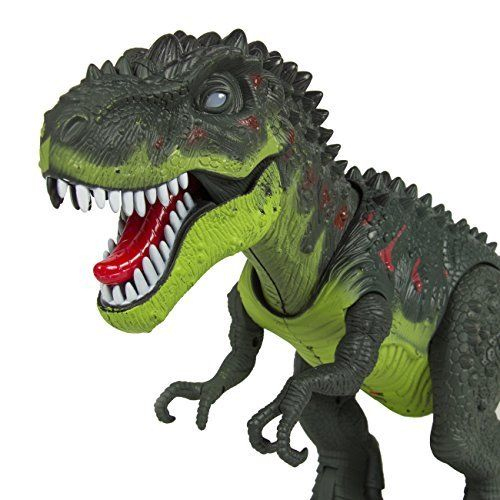 Toy Dinosaur T-Rex Rc Animated Battery Action Sound concernant Dinosaure Tyrex
