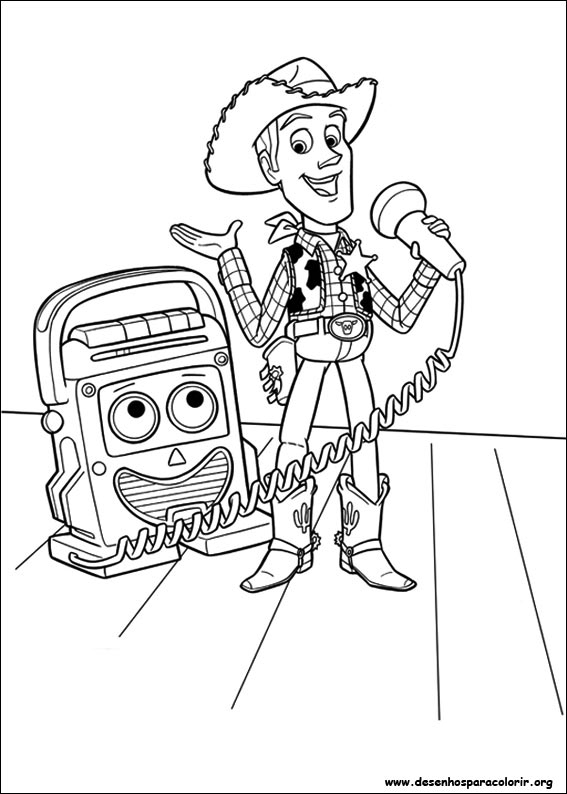 Toy Story 3 Para Colorir dedans Dessin Toy Story 3