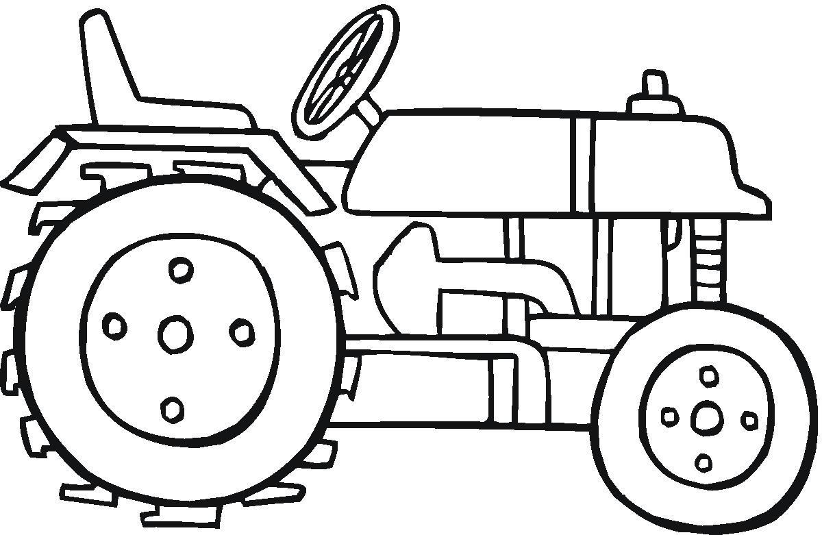 Tracteur : Coloriage De Tracteur Gratuit À Imprimer Et serapportantà Coloriage Tracteur