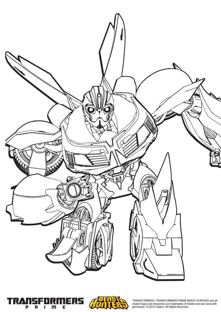 Transformers Prime Beast Hunters Coloring Pages - Google pour Dessin A Inprimer