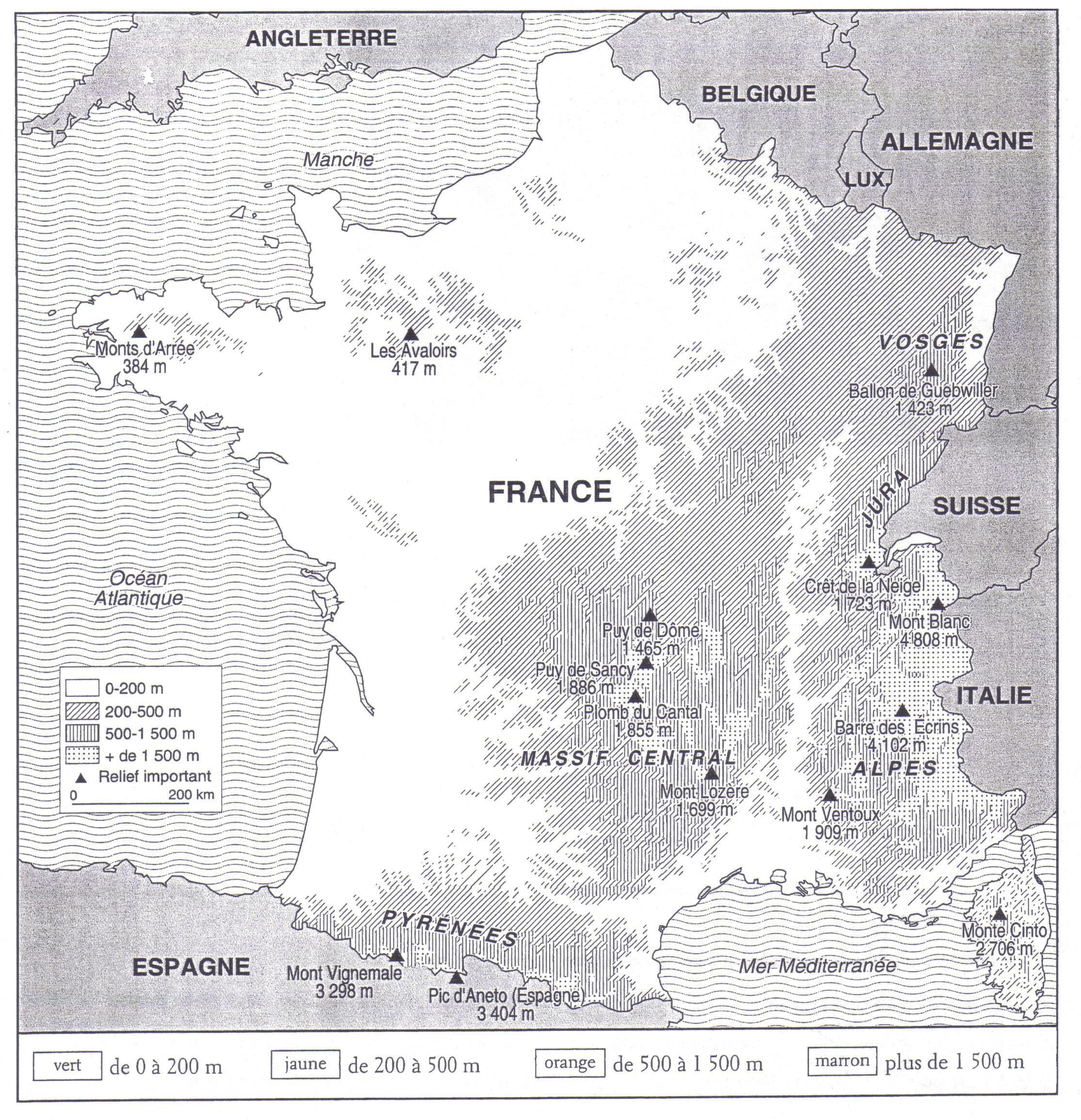 Travail Pour Le Jeudi 17 Octobre 2013 destiné Dessin Carte De France
