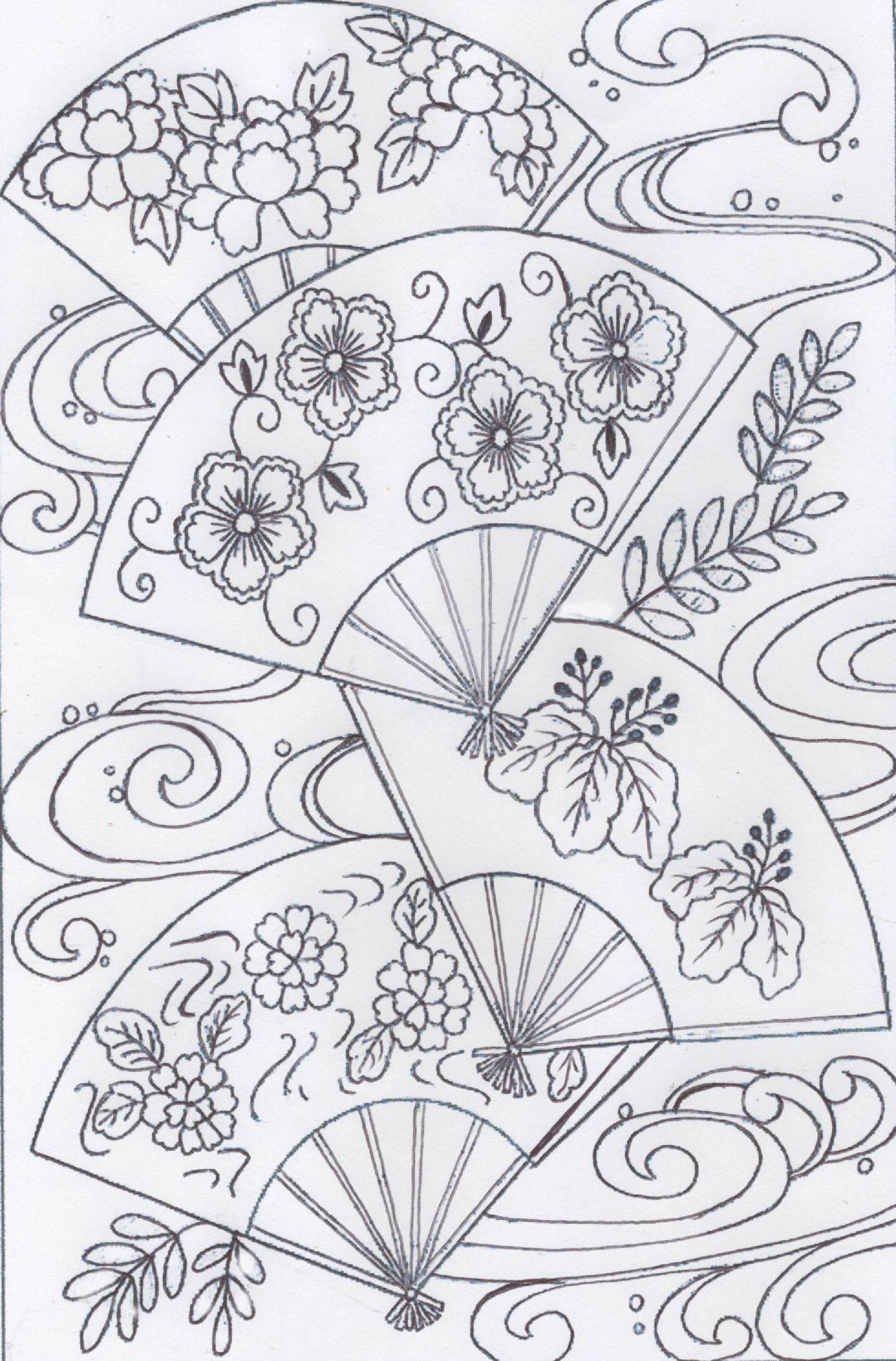 Trio D'Évls Dessin | Coloriage, Coloriage Japonais Et pour Dessin Japonais A Colorier