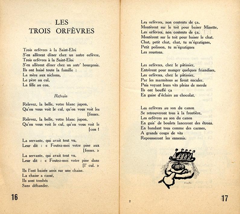 Trois Orfevres À La Saint Éloi intérieur Parole Chanson 3 Petit Chat