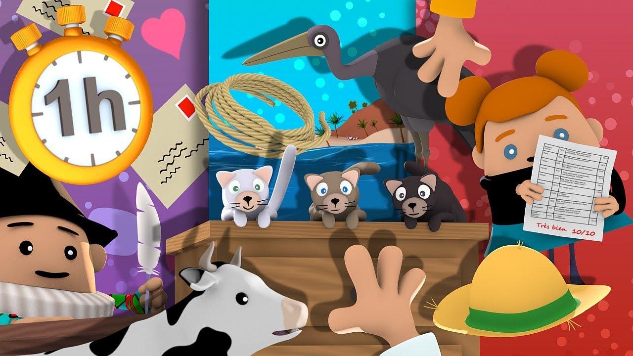 Trois Petits Chats - Chansons Avec Paroles - pour Contine 3 Petit Chat Paroles