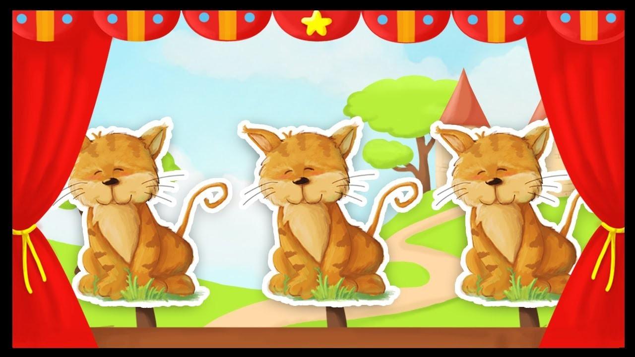 Trois Petits Chats Paroles Imprimer De La Comptine 3 Ptits concernant Contine 3 Petit Chat Paroles