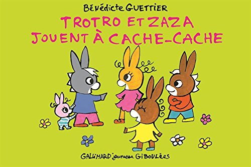 Trotro Et Zaza Jouent À Cache-Cache De Bénédicte Guettier encequiconcerne Trotro Et Zaza