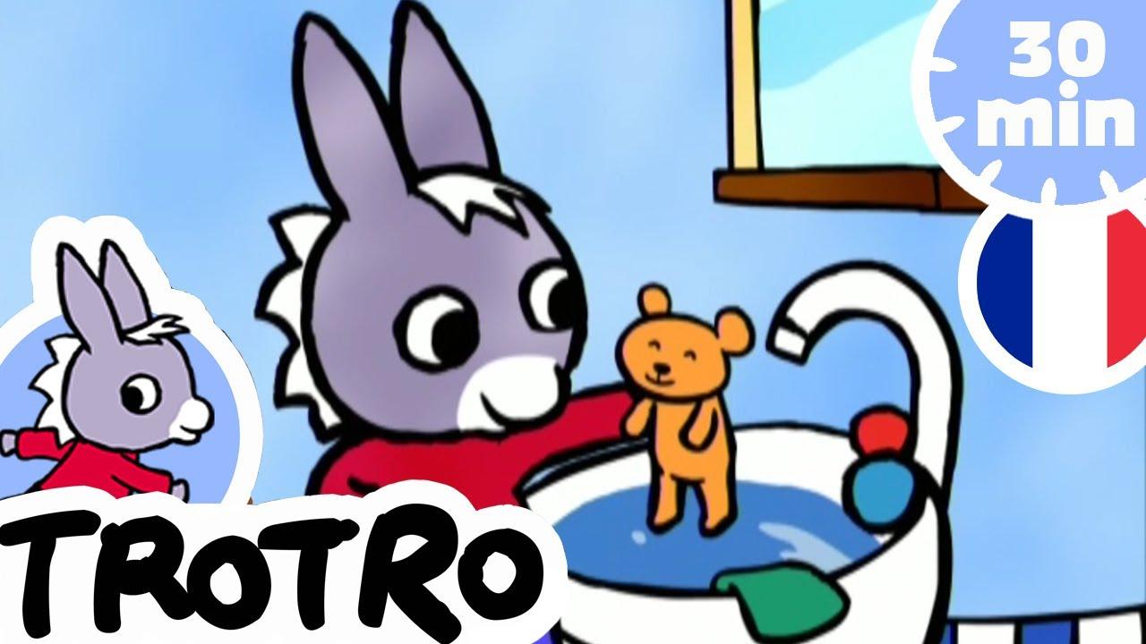 Trotro - Le Bain De Trotro 🛁 | Dessin Animé | Hd |2020 dedans Trotro Dessin Anim?