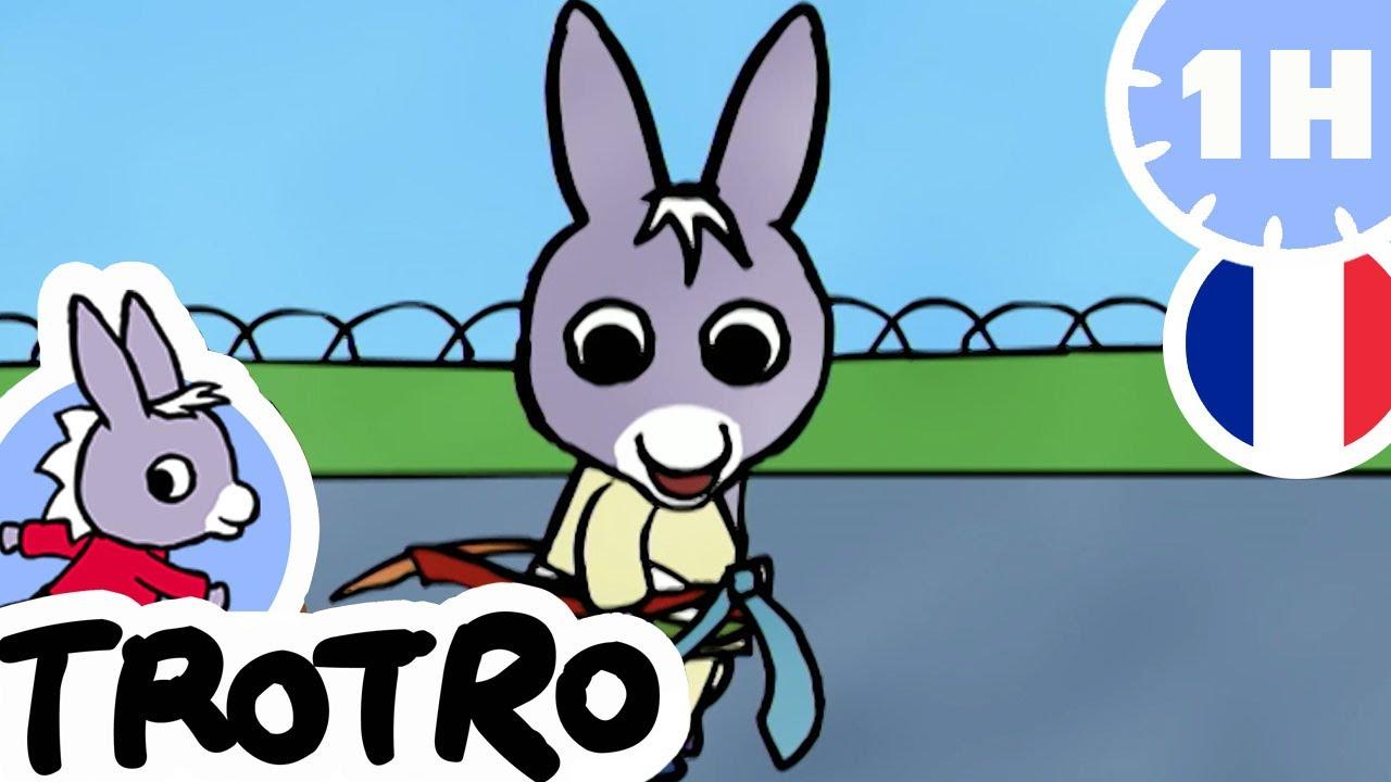 Trotro - Trotro Est Un Grand | Dessin Animé | Hd |2020 concernant Trotro Dessins Animes
