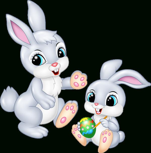 Tube Pâques : Lapins Png, Oeufs - Easter Clipart : Rabbits serapportantà Origine Lapin De Pâques