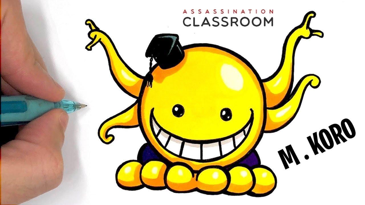 Tuto Dessin Facile - Mr Koro Assassination Classroom - avec Dessin Fée Facile