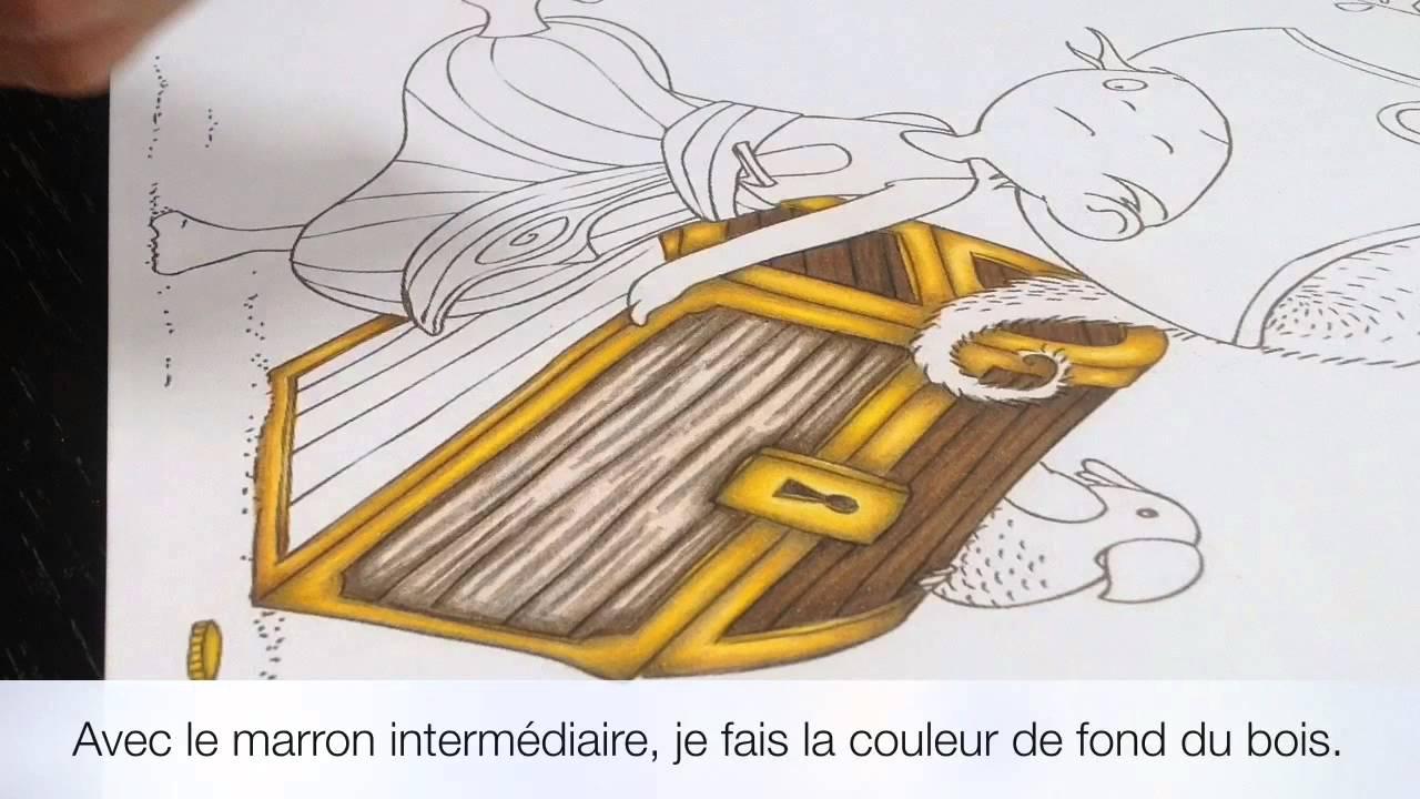Tutoriel : Faire Le Bois D'Un Coffre Au Crayon De Couleur serapportantà Comment Fabriquer Un Coffre Au Trésor