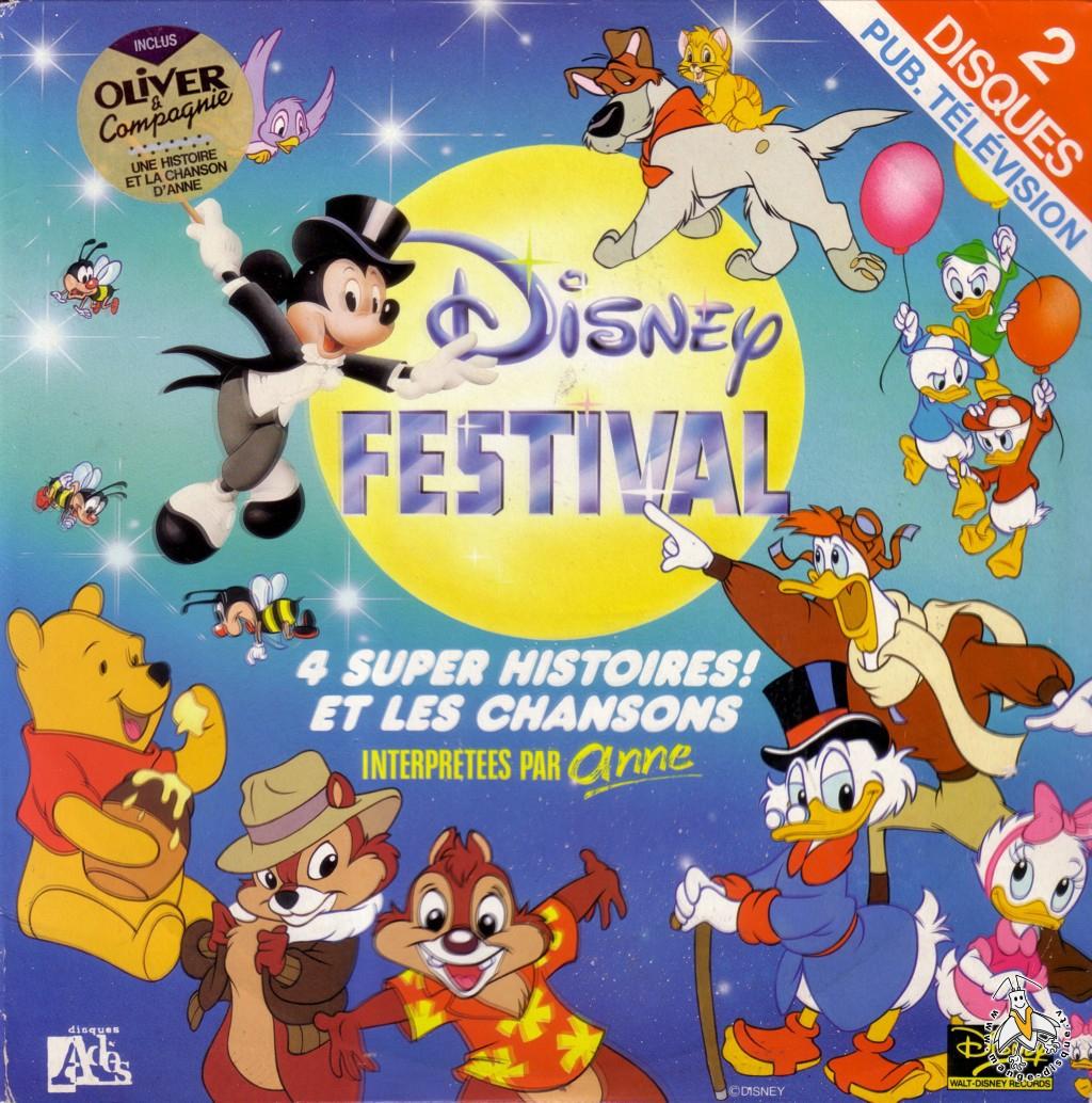 Tv Series And Cartoons Records Disney Festival 4 Super concernant Dessin Animé Walt Disney Gratuit