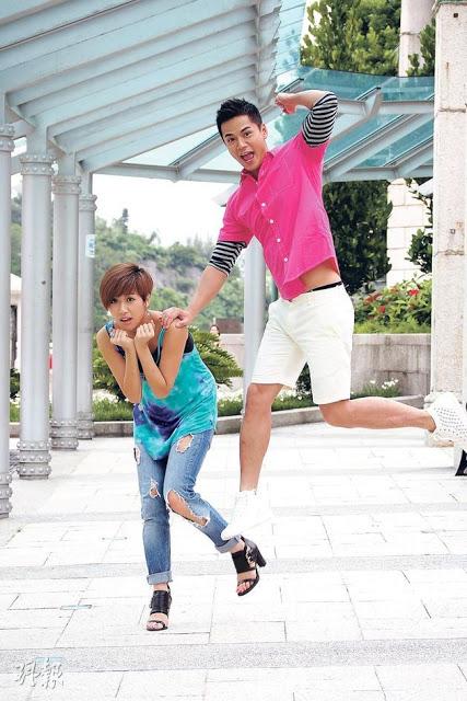 Tvb: Mandy Wong: Him Law Is 'Boyfriend', Oscar Leung Is dedans Oscar L Escargot