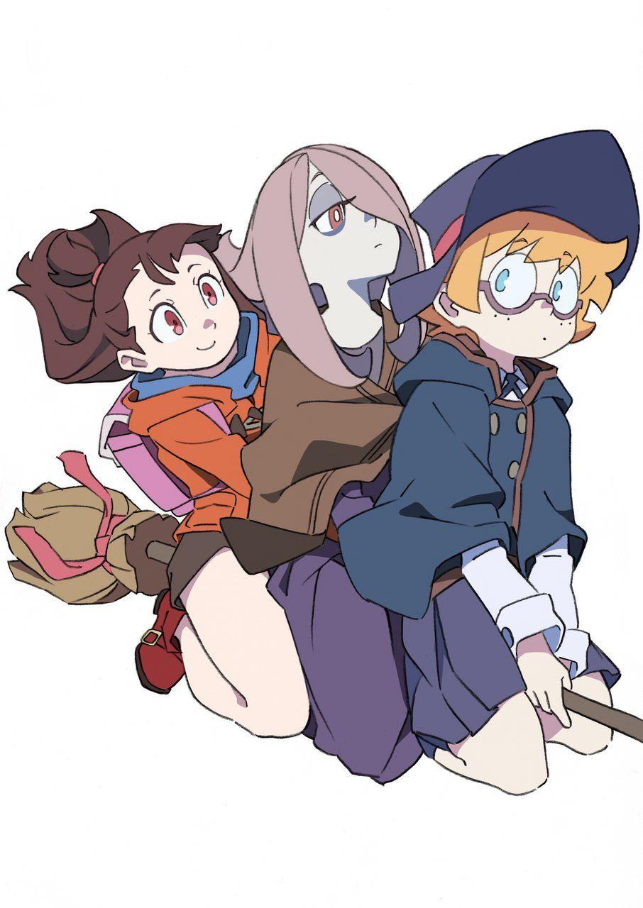 Twitter | Anime Witch, Little Witch Academy, My Little destiné Manga Kawaii Chlo?