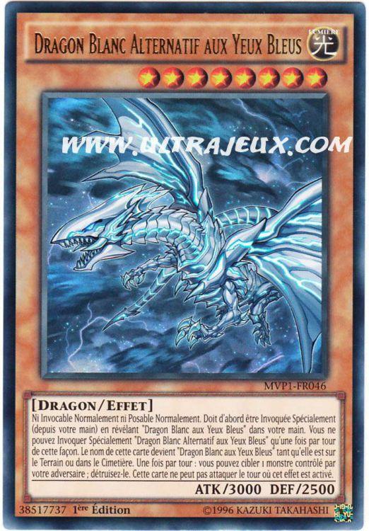 Ultrajeux - Dragon Blanc Alternatif Aux Yeux Bleus (Mvp1 destiné Coloriage Yu Gi Oh Dragon Blanc Aux Yeux Bleus