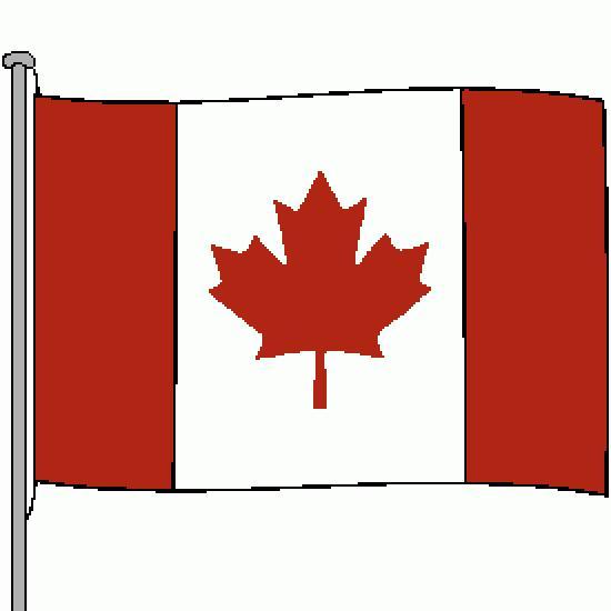 Un Coloriage De Drapeau Réalisé Par Gh concernant Drapeau Du Canada A Colorier