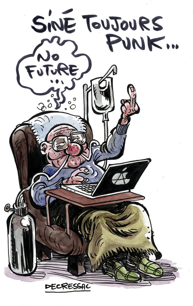 Un Dessin De Soutien Au Vieux Bob - Dans Tous Les Sens avec Dessin De Vieux Monsieur