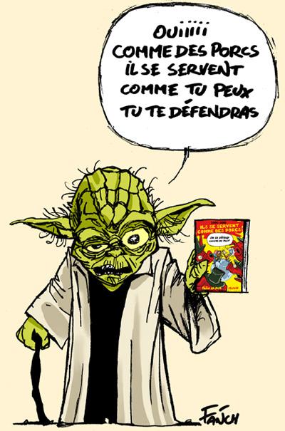 Un Livre Recommandé Par Maître Yoda destiné Maitre Yoda Dessin