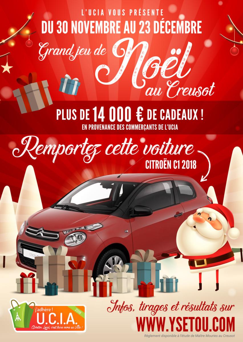 Une Citroën C1 À Gagner Pour Le Grand Jeu De Noël De L concernant Jeu De Dedans